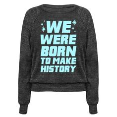 This anime shirt is perfect for fans of Yuri, Victor and all the other cute figure skating men, because we were born to make history! Be weeaboo proud with this yuri on ice shirt, perfect for fans of anime, otaku, history maker and yuri on ice merch.
