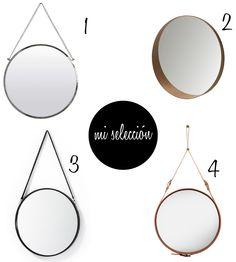 espejos circulares | Estilo Escandinavo