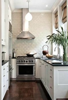 Small Kitchen Functionality Right Stylish Tiles
