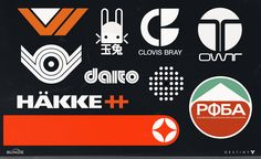 Destiny Logos by joseph cross | Illustration | 2D | CGSociety