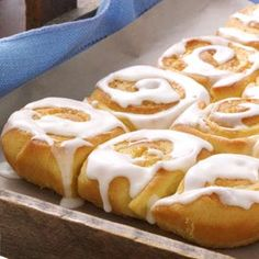 Grandma's Orange Rolls Recipe from Taste of Home -- shared by Norma Poole of Auburndale, Florida