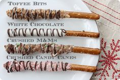 Easy Chocolate Dipped Pretzels