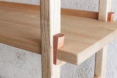 木組みのシェルフ