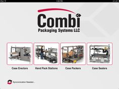 At Combi we strive to stay current and work to supply the best for our Reps, Distributors, Integrators, OEM's and 3M Reps; buy supplying the Combi App available Free on Itunes. If your wondering what type equipment we offer, visit our website, ask us or check out this new app!