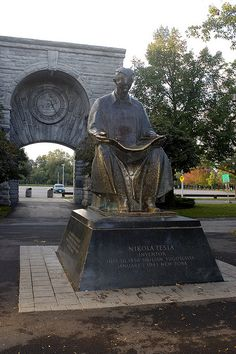 Nikola Tesla Secret is something new that promises to tell you how to make a product for you to collect 100 % free electrical power from radio waves and also the environment. http://netzeroguide.com/tesla-secret.html Nikola Tesla Monument, Goat...