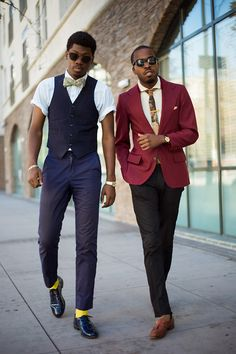 Donovan Briggs and Rome Castille, Downtown Los Angeles...