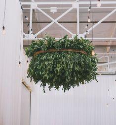 garland chandelier.
