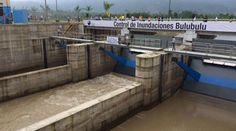 En la Troncal embalse las Maravillas se realiza la inauguración del control de inundaciones represa río Bulubulu. Fotos: Mario Faustos/ EL COMERCIO