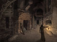dungeon concept art - Google Search