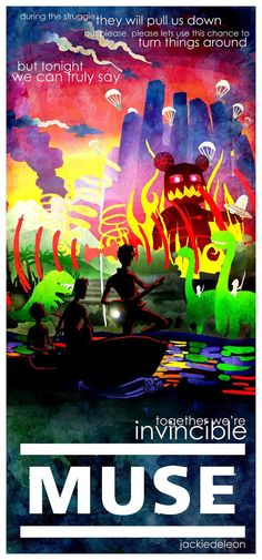 MUSE invincible poster by ~JACKIEthePIRATE on deviantART