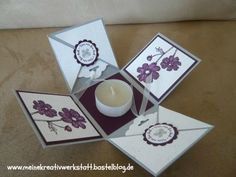Stampin up, Explosionsbox