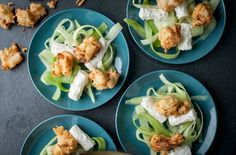 Luke Tipping's Cod Popcorn With Cucumber And Potato Salad - Tesco Real Food - Tesco Real Food