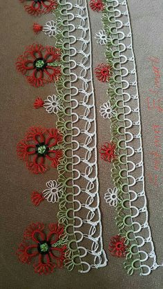 Shuttle Models, to do # Mekikoyalar # Mekikoyasıexamples # … - Tatting Ideen 2019 Needle Tatting, Tatting Lace, Crochet Trim, Crochet Lace, Shuttle Tatting Patterns, Lacemaking, Bobbin Lace, Knitted Shawls, Simple Art