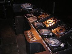 Ministry of Sound DJ Booth (Oldie but a goodie)