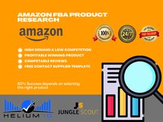 It is difficult to survive as a new seller on the Amazon Marketplace in (US, UK, Canada, Italy) countries, but when you carefully choose the right items to sell it, it is not only easy to rank, you can also produce a profitable margin in a short time, but many requirements must be included in the product that will achieve your goals. English Projects, Best Amazon Products, Amazon Image, Web Analytics, Amazon Fba, Competitor Analysis, Resume Writing, Resume Design, Private Label