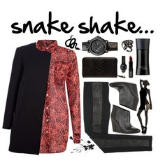 """Snake"" by victorina-bob on Polyvore"