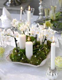 nyårsdukning - Sök på Google Christmas Decorations, Table Decorations, Nye, Scandinavian, Table Settings, Party, Advent, Inspiration, Home Decor