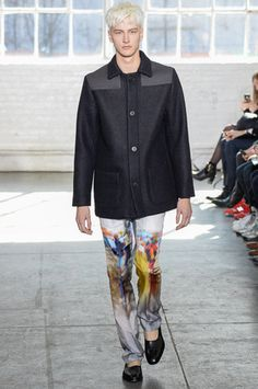 Duckie Brown Fall 2014 Ready-to-Wear Collection Slideshow on Style.com