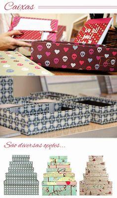 Joy Paper caixas e organizaçao