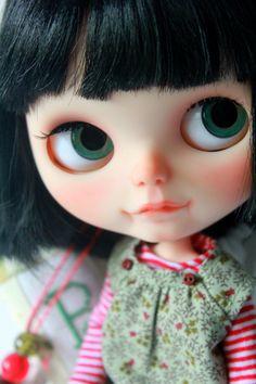 Amelie OOAK Blythe Custom Art Doll by by BlytheDollBakery on Etsy
