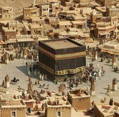 The holy mosque - Makkah Islamic Images, Islamic Pictures, Islamic Art, Masjid Haram, Mecca Masjid, Mecca Wallpaper, Islamic Wallpaper, Photos Islamiques, Mekka Islam