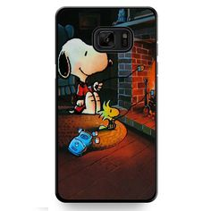 Snoopy TATUM-9741 Samsung Phonecase Cover For Samsung Galaxy Note 7