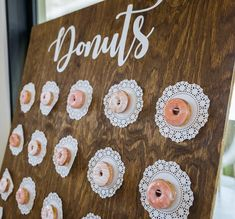 Eat more hole foods 🍩🍩🍩 National Donut Day, Baby Love, Donuts, Signage, Advent Calendar, Backdrops, Wedding Day, Eat, Holiday Decor