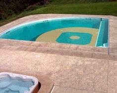 Baseball Pool - my backyard needs this!