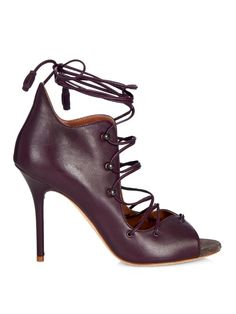 Malone Souliers Savannah lace-up leather sandals