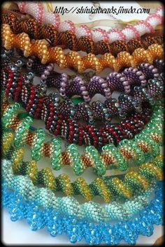 *P Jewelry: Cellini Spiral Twist tutorial