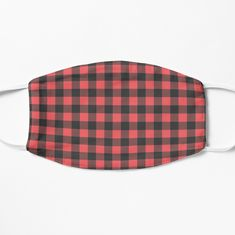 Red Plaid, Face Masks, Chiffon Tops, Art Prints, Printed, Awesome, Cute, Stuff To Buy, Vintage
