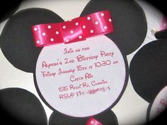 Planning a Minnie Mouse Birthday Party