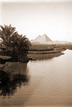 The Pyramids at Giza. 1938.