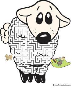Sheep Shaped Maze