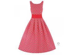 Lindy Bop retro šaty v nesmrtelné kombinaci barev a střihu