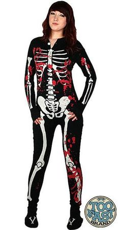 I found 'TOO FAST - SKELETON PYJAMAS, PAJAMAS, PJs / HORROR, PSYCHOBILLY, ZOMBIE WALK' on Wish, check it out!