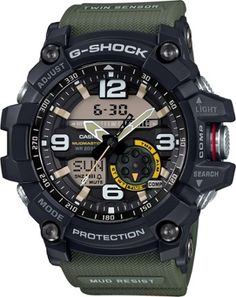 Casio G-Shock Mudmaster GG1000-1A3 Multifunction Watch Black
