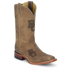 #Baylor men's Nocona boots, from the Baylor Bookstore