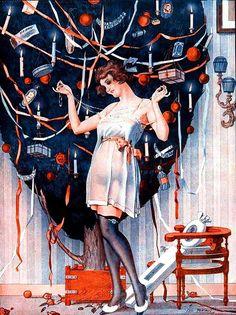La Vie Parisienne Xmas Gift 1923 Léo Fontan