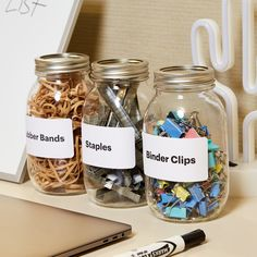 Basic office organization is key to working efficiently on a day to day basis. Try these five easy organization hacks to help you make the most of your office and desk space. Check out Avery for free templates and more ideas.