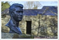 Visit great Irish patriot Michael Collins' birthplace at Sam's Cross, County Cork, Ireland.