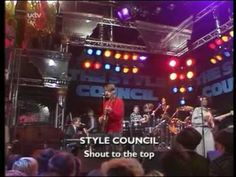 Style Council - Shout To The Top ( The Tube TV Show 1984 ) Live - Lyrics - YouTube