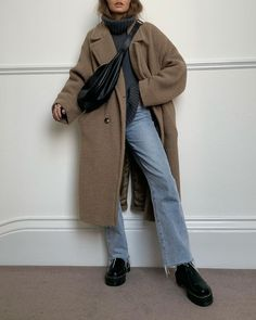 Outfits Otoño, Modest Outfits, Casual Outfits, Fashion Outfits, Womens Fashion, Fall Winter Outfits, Autumn Winter Fashion, Mode Simple, Look Fashion