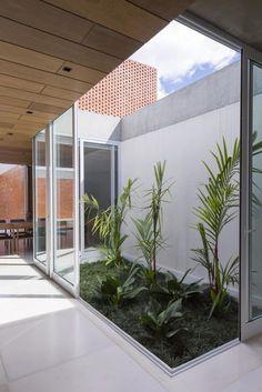 6 Best Cool Tips: Backyard Garden Patio english backyard garden dreams.Backyard Garden Fruit How To Grow backyard garden patio lawn. Interior Garden, Home Interior Design, Interior And Exterior, Lobby Interior, Exterior Design, Interior Modern, Kitchen Interior, Indoor Courtyard, Internal Courtyard