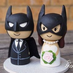 14CM Handmade Wedding Cake Topper Batman and Wonderwoman Bride & Groom Wedding Decoration Favors Clay Cake Supplies With Simple-in Event & Party Supplies from Home & Garden on Aliexpress.com | Alibaba Group