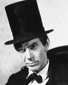 """Academy Awards - February Raymond Massey Nominated for the Academy Award for Best Actor for """"Abe Lincoln in Illinois"""" Hollywood Icons, Classic Hollywood, Best Actress, Best Actor, Raymond Massey, Best Supporting Actor, Vintage Glam, Movie Characters, Old Movies"""