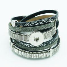 Rhinestone Pattern multi layer Bracelet