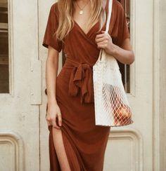 Read more about this autumn tone dress by @palomawool on nycbambi.com