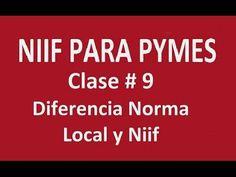 562. Diferencia Norma Local y Niif Clase # 9 _ ElsaMaraContable