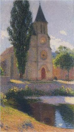 Church at Labastide du Vert - Henri Martin